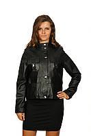 Куртка черная на кнопках
