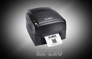 Принтер печати этикеток нового поколения GoDEX EZ 120