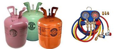 Оборудование и аксессуары для заправки и диагностики автокондиционеров