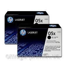 Картридж HP LJ P2055, (CE505XD, 2ХCE505X)