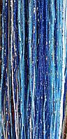 Однотонные веревочные шторы с люрексом и цветами на любой вкус