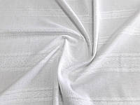 Ткань декоративная Танюша (арт. 12349) белый (Отрезы 0,71 + 1,05 м)