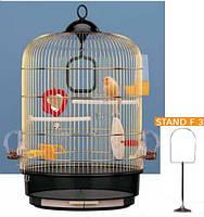 Ferplast (Ферпласт) REGINA Клетка для птиц, золотистая.