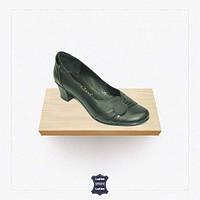 Женские кожаные туфли на каблуке 36,38,41р
