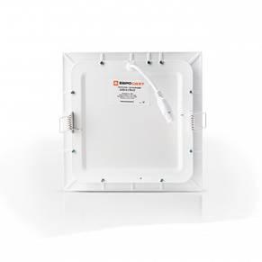 Светильник светодиодный встраиваемый ЕВРОСВЕТ LED-S-255-18 18Вт 6400K 225х225 (000038839), фото 3