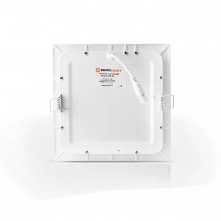Светильник встраиваемый светодиодный LED-S-255-18 6400K (225*225) квадр., фото 2