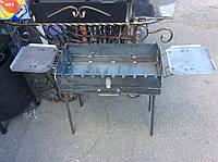 Мангал разборный, портативный на 10 шампуров сталь 3мм