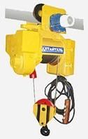 Тельфер Болгария складского хранения (электроталь, таль) Т10632 грузоподъемность 5т, подъем 12м