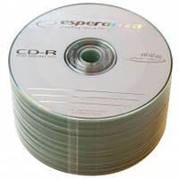 Диски CD-R Esperanza 700Mb 52x bulk 50