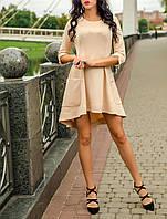 """Элегантное женское платье """"Санд Нейт"""" приталенного покроя"""