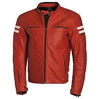 Классическая мото куртка Segura Retro красная, L