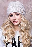 Женская шапка крупной вязки в 10ти цветах AC Мила
