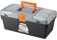 """Ящик для инструмента, 420 х 220 х 180 мм (17""""), пластик STELS (90704)"""