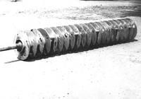 Барабан роторний РКР-15 (стр. зразка) з флянцями і напіввісями (без ножів)