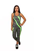 Фитнес костюм женский (верх + низ), фото 1
