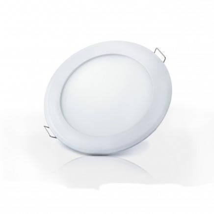 Светодиодный встраиваемый светильник LED-R-150-9 6400K (150mm) круг, фото 2