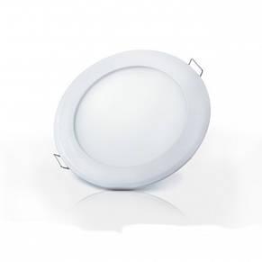 Светильник светодиодный встраиваемый ЕВРОСВЕТ LED-R-120-6 6Вт 4200К 120мм (000039170), фото 3