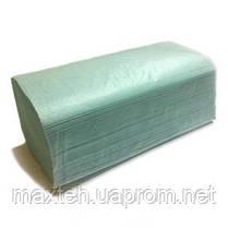 Полотенца бумажные ZZ макулатурные зелёный