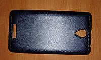 Чехол Lenovo A319, A2010, A5000, A6000 имитация кожи со строчкой