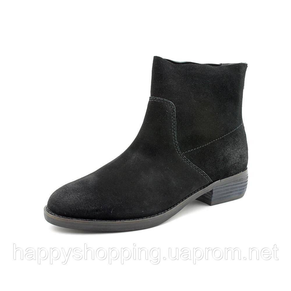 Женские брендовые черные ботинки Shellys London из натуральной замши