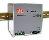 DRT-240-24, DRT-240-48 - трехфазные источники питания Mean Well (на DIN-рейку)
