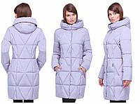 Женская зимня куртка с капюшоном, отличное качество, хорошая цена, Харьков, Санта, в цветах, 42-54