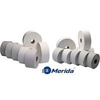 Туалетная бумага на гильзе бытовая разного метража Merida туалетний папір з гільзою