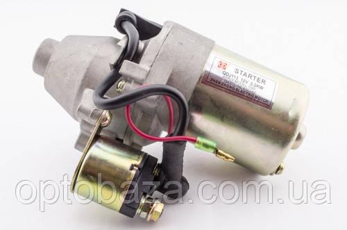 Стартер электрический в сборе для бензинового мотоблока 6 л.с., фото 2