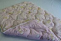 Одеяло в кроватку бязь/шерсть., фото 1