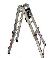 Телескопическая лестница SVELT SCALISSIMA 7+7 ст. Hmax - 3.55 м