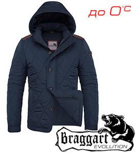 Куртка чудесная стеганая Braggart 46, синий