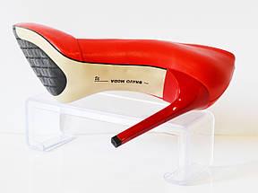 Красные туфли Bravo Moda 1305, фото 3