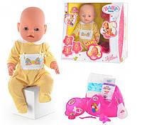 Кукла пупс 8001 Baby Born  8 функций (лето)