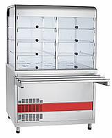 Прилавок-витрина холодильный ABAT ПВВ(Н)-70КМ-С-02-НШ