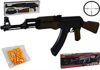 Детский автомат AK-47, на пульках, аналог ZM 93. Игрушечное оружие, детский автомат на пульках
