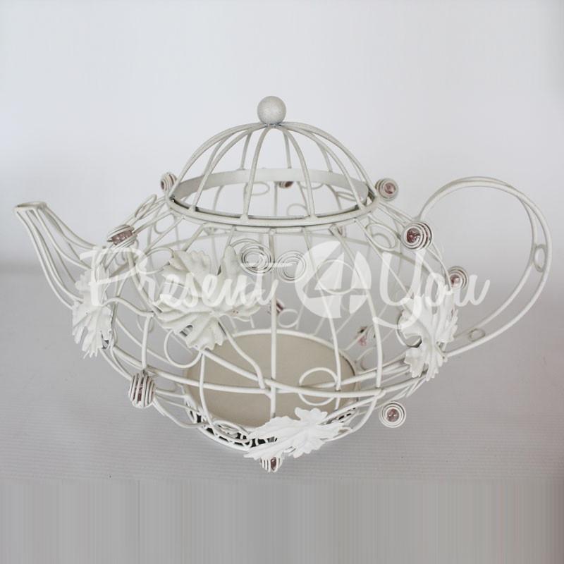 Декорация в стиле прованс «Чайник», h-22 см.