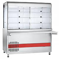 Прилавок-витрина холодильный ABAT ПВВ(Н)-70КМ-С-03-НШ