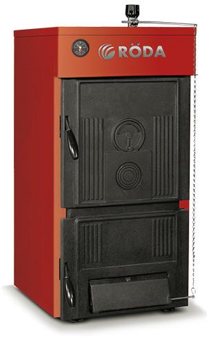 Универсальный твердотопливный котел отопления Roda Brenner Classic ВС-08 - котлы на дровах и угле