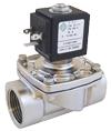 Электромагнитный клапан из нержавеющей стали 21L2K1T15-ХС, 1/4', нормально закрытый. Электроклапан.