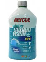 Жидкость для омывания стекол зимняя -20° Мол Аlycol Marine зимняя 2л