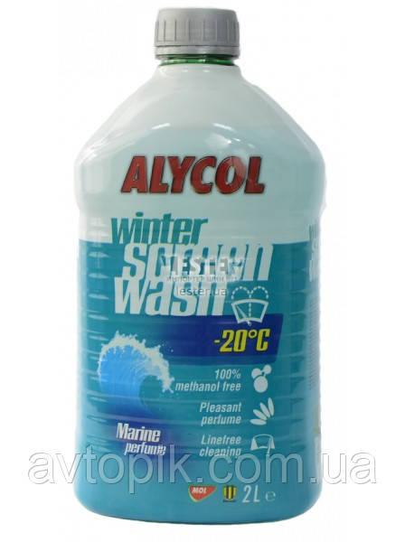 Жидкость для омывания стекол зимняя -20° Мол Аlycol Marine зимняя 2л MS-9565