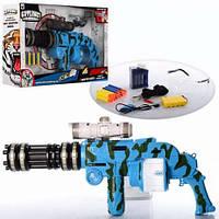 Детский автомат с гелевыми пулями, на аккумуляторе. Автомат YH833E на водяных пулях(гелевых) 58 см