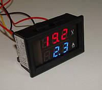 2 в 1 Амперметр 100А(работает с шунтом) + вольтметр DC 0-100V, шунт в комплекте не идет