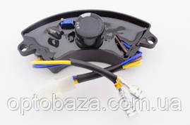Автоматический регулятор напряжения AVR (дуга) пластик для генераторов 2 кВт - 3 кВт, фото 3