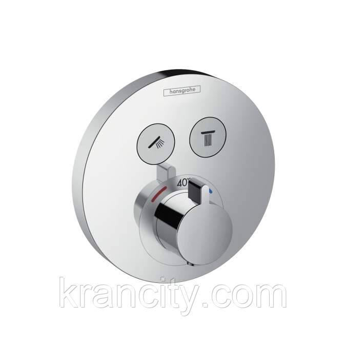 Термостат для душа Hansgrohe Shower Select S с внутренней частью Ibox universal 15743000+01800180