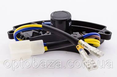 Автоматический регулятор напряжения AVR (дуга) пластик для генераторов 2 кВт - 3 кВт