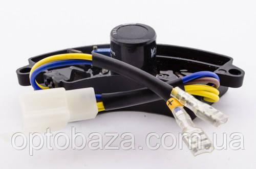 Автоматический регулятор напряжения AVR (дуга) пластик для генераторов 2 кВт - 3 кВт, фото 2