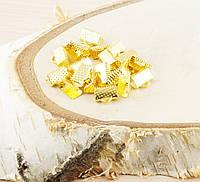 Зажимы под золото 10мм  (2 штуки) (товар при заказе от 200 грн)