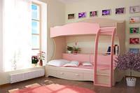 Двухъярусная кровать Принцесса
