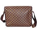 Мужская сумка из кожзаменителя LV300206 коричневый, фото 2